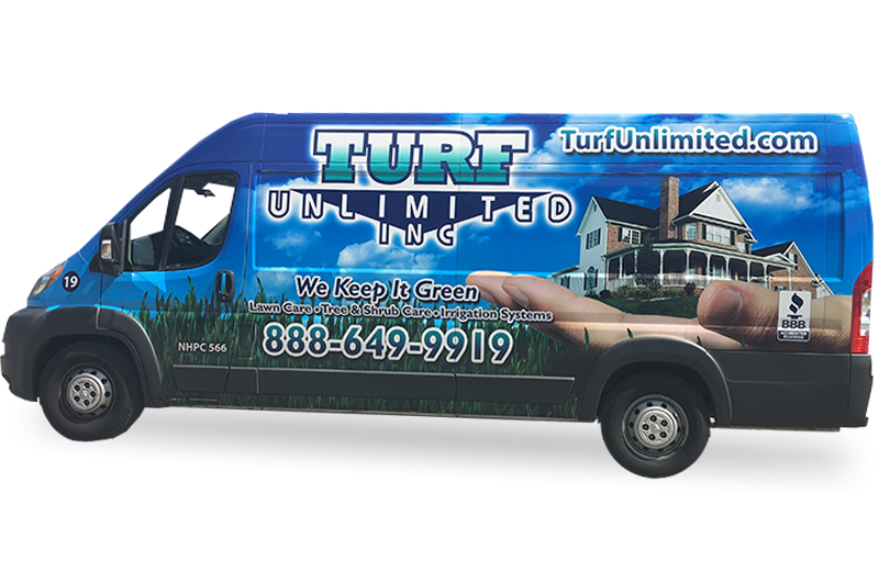 Turf Unlimited Inc. provides lawn care with a smile