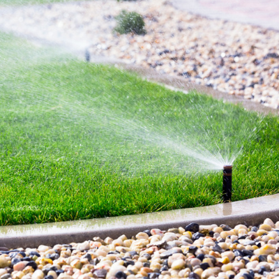 springtime sprinkler system
