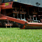 Aerator machines are tools used in lawn aeration, or core aeration, services.