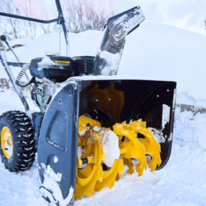 Fall lawn equipment maintenance here in Andover, MA includes preparing your snow blower and other winter equipment for the months ahead.